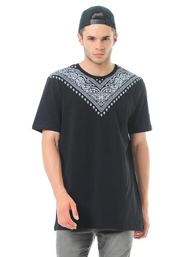 ADOFF Baskılı Tişört Siyah